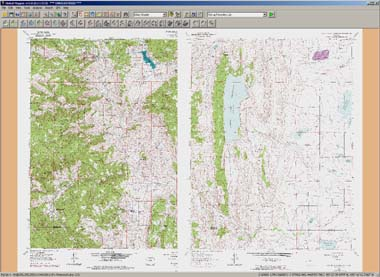 ChartTiff Original Collared DRG Topo maps