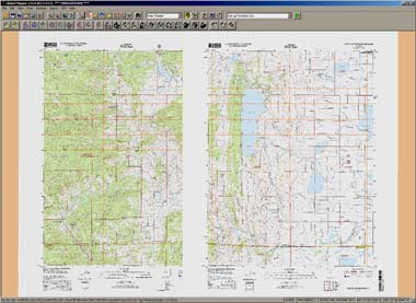 ChartTiff NextGen Collared DRG Topo maps